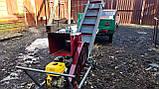 Подрібнювач гілок 120мм садовий з Транспортером.Веткоизмельчитель., фото 3