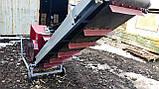 Подрібнювач гілок 120мм садовий з Транспортером.Веткоизмельчитель., фото 4