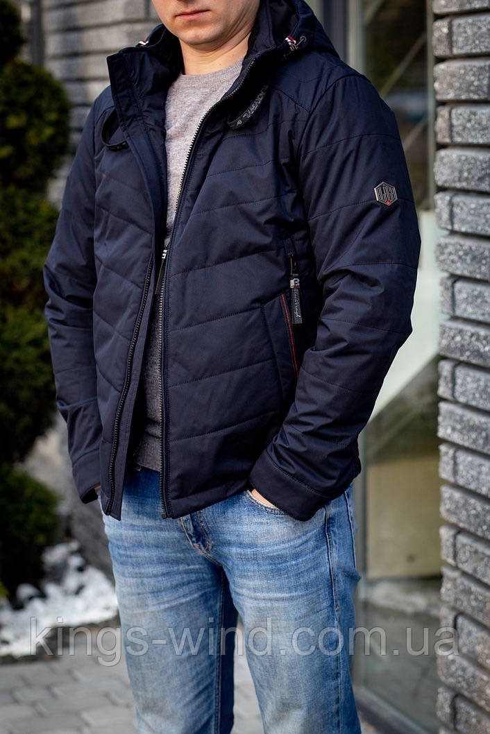 Куртка чоловіча BLACK VINYL TC19-1375