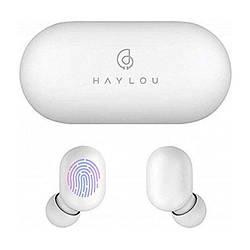 Навушники TWS повністю бездротові Haylou GT1 White