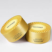 Патчи гидрогелевые Bioaqua Hydrating Moisturizing Eye Mask, с био-золотом, 60шт