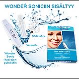 Аппарат для ультразвуковой чистки лица в домашних условиях - скрабер Wonder Cleaner, фото 5