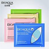 Патчі під очі гідрогелеві Bioaqua Nicotinamide Seaweed Eye Mask з никотинамидами і водоростями,1 пара, фото 3