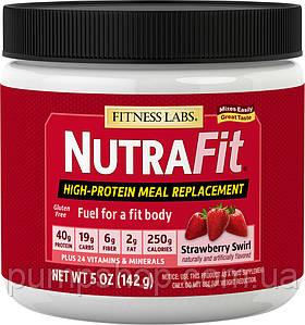 Замінник харчування FitnessLabs Meal Replacement Shake NutraFit 142 г