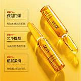Набор ампул антивозрастных Venzen Yeast Hyaluronic Acid Beauty Serum, упаковка (2мл х 60шт), фото 4