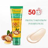 Крем сонцезахисний для особи Disaar Argan Oil of Morocco Sunscreen SPF 50+ PA+++, з аргановою олією Марокко,, фото 2