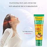 Крем сонцезахисний для особи Disaar Argan Oil of Morocco Sunscreen SPF 50+ PA+++, з аргановою олією Марокко,, фото 3