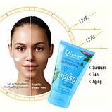 Крем сонцезахисний Disaar SPF 50+ Hyaluronic Sunscreen Facial Body Sunscreen, з гіалуронової кислотою, 100 мл, фото 2