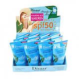 Крем сонцезахисний Disaar SPF 50+ Hyaluronic Sunscreen Facial Body Sunscreen, з гіалуронової кислотою, 100 мл, фото 5