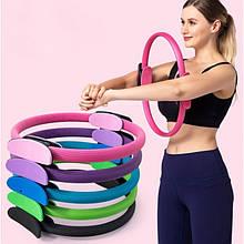 Изотоническое кільце для пілатесу Fitness Ring Easy Fitness, йога коло, діаметр 38 см