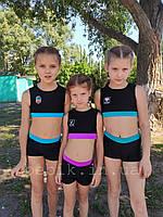 Детский купальник для танцев pole dance рост 116-150, фото 1