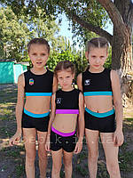 Детский купальник для танцев pole dance рост 116-150