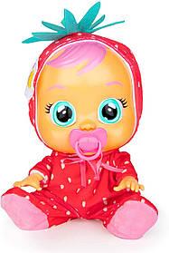 Інтерактивна Лялька плакса Елла з ароматом полуниці Cry Babies Tutti Frutti Ella The Strawberry