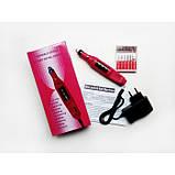 Фрезер-ручка для манікюру і педикюру Variable Speed Rotary Detail Carver, 6 насадок, фото 3