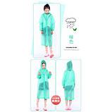 Дощовик дитячий з капюшоном (110 х 50 см), 5 кольорів, фото 6