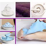 Альгинатная маска антистрессовая JIAZHOUYIN CHUA lavender, с экстрактом лаванды, 200 г, фото 3