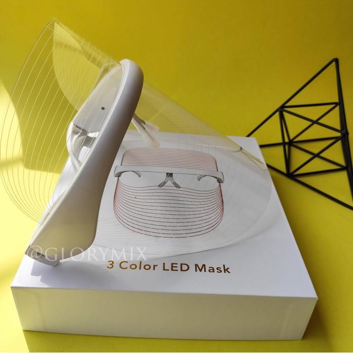 Аппарат, Маска светодиодная терапевтическая  3 Color LED Mask