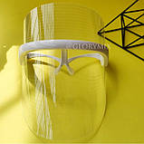 Аппарат, Маска светодиодная терапевтическая  3 Color LED Mask, фото 2