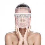 Аппарат, Маска светодиодная терапевтическая  3 Color LED Mask, фото 8