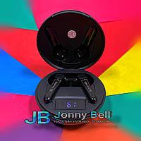 Беспроводные Bluetooth наушники Самсунг Buds Pro индикация заряда, с кейсом (черные)