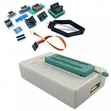 USB программатор MiniPro Xgecu Pro TL866II Plus + адаптеры 10 в 1