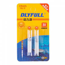 2x Батарейка CR425 3В 25мАч для світяться LED поплавців