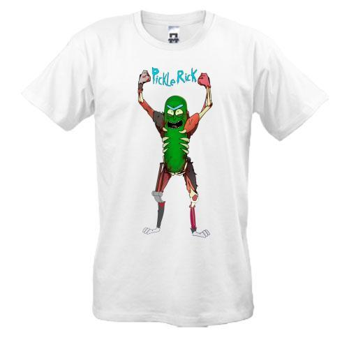 Футболка Pickle Rick (3)