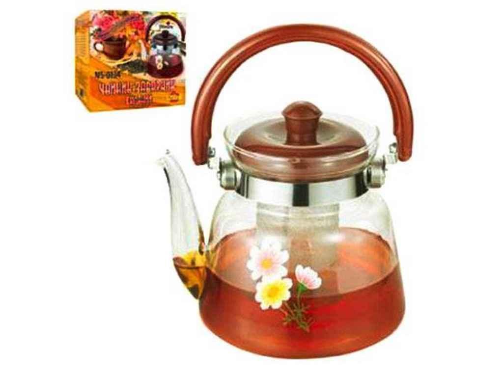 Чайник-заварник скло 1,2 л MS-0134 ТМ STENSON