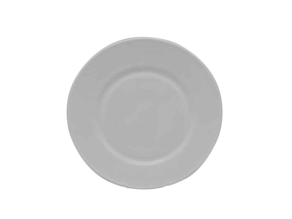 Набор тарелок 6 штук стеклокерамика 25 см P-100 VITOL
