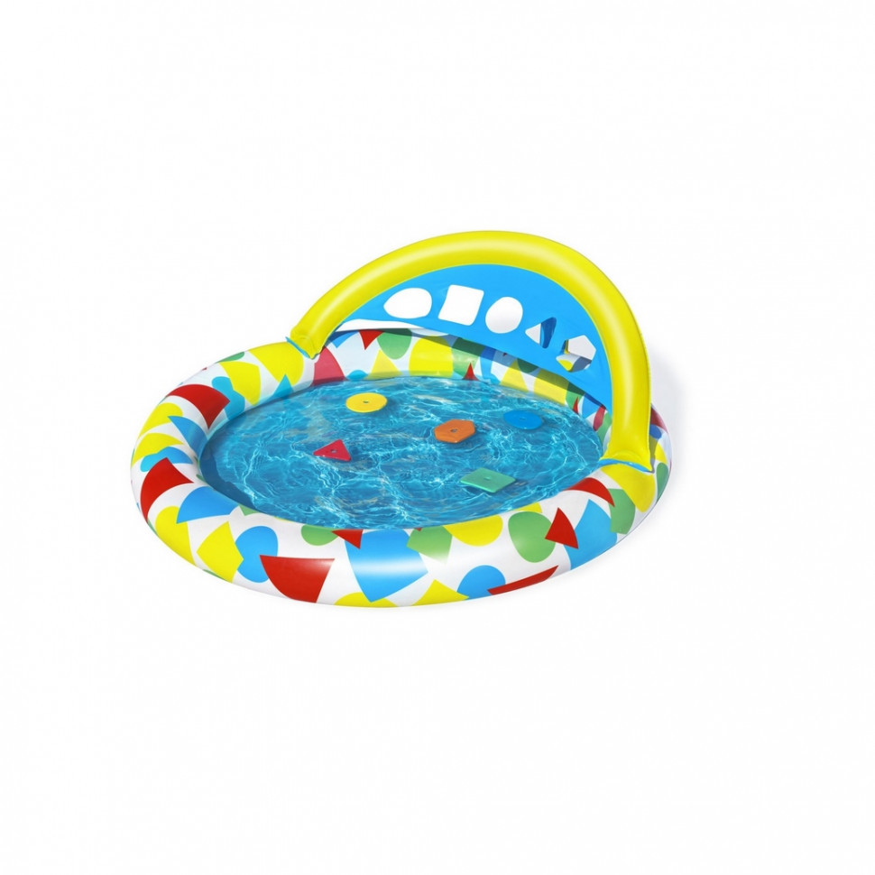 Басейн дитячий надувний 52378 круглий, 120-117-46см