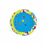 Басейн дитячий надувний 52378 круглий, 120-117-46см, фото 2