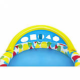 Басейн дитячий надувний 52378 круглий, 120-117-46см, фото 9