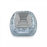 Надувне крісло BW 75096 велюр, фото 5