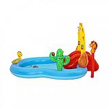 """Дитячий надувний ігровий центр """"Дикий захід"""" BW 53118, 278 л, фото 4"""