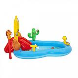 """Дитячий надувний ігровий центр """"Дикий захід"""" BW 53118, 278 л, фото 5"""