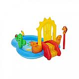 """Дитячий надувний ігровий центр """"Дикий захід"""" BW 53118, 278 л, фото 7"""