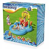 """Дитячий надувний ігровий центр """"Дикий захід"""" BW 53118, 278 л, фото 10"""
