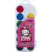 Фарби акварельні Kite Hello Kitty HK21-061, 12 кольорів