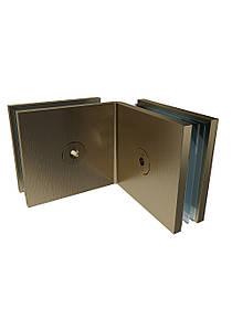 ODF-01-21-30 Соединение стекло-стекло 90 градусов, цвет матовая бронза