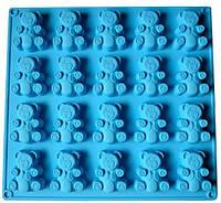 """Форма силіконова для печива """"Барні"""" Stenson 28х29,5х2 см XY-C1134"""