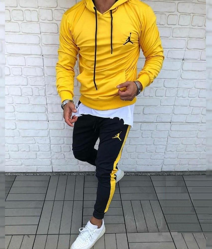 Спортивний костюм Nike Jordan жовтий