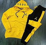 Спортивний костюм Nike Jordan жовтий, фото 2