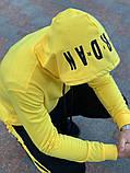Спортивний костюм Nike Jordan жовтий, фото 8