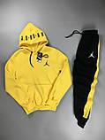 Спортивний костюм Nike Jordan жовтий, фото 10