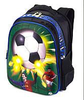 Школьный рюкзак Футбол 1, 2, 3 класс для мальчика. Портфель ранец ортопедический полу каркасный
