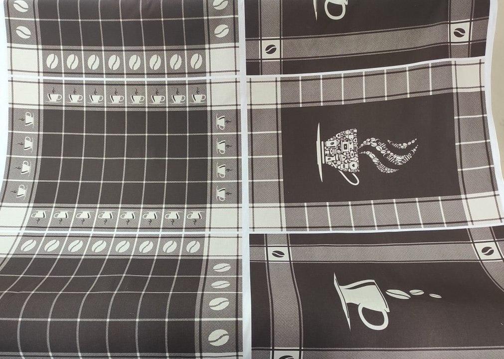 Ткань х/б вафельная напечатанная ЦВЕТЫ