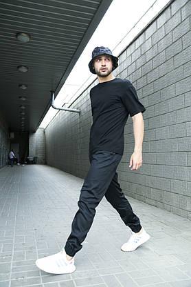 Штаны карго мужские Intruder черные осенние   весенние   летние спортивные брюки, фото 2