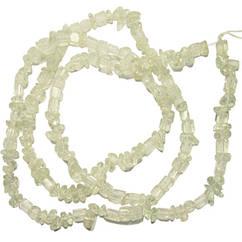 Відколи Прозорий Кварц Кубиками, Розмір від 4 до 6 мм, Намистини Натуральний Камінь, Рукоділля