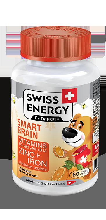 Вітаміни жувальні Swiss Energy SmartVit Kids, №60 (4533)