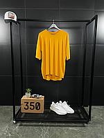 Помаранчева оверсайз футболка ASOS | бавовна + еластан, фото 1